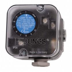 Pressostat gaz 2,5 à 50Mbar LGW 50 A4