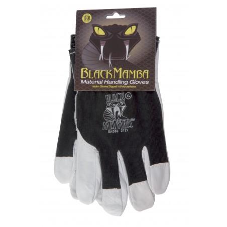 Paire gants cuir/coton L