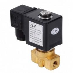 Electrovanne haute pression inox 1/4'' NF
