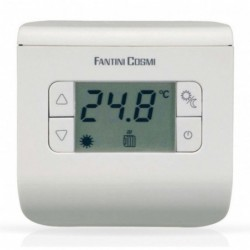 Thermostat d''ambiance 2 / 40°C CH110 - Argent