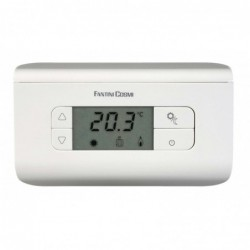 Thermostat d''ambiance CH116 argent