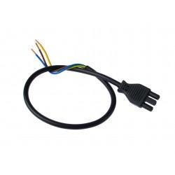 Cable spina D L380mm coudé pour transfo electronique