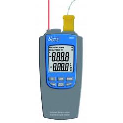 Thermomètre sonde et infrarouge