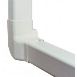 Angle vertical gauche 80 mm