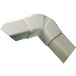 Coude plat réglable 65-130° 60 mm