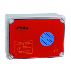 Alarme sonore avec flash 230V